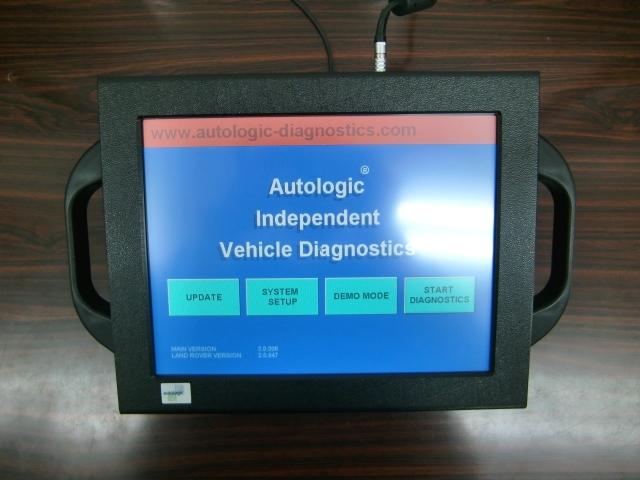 LANDROVER専用診断機:オートロジック