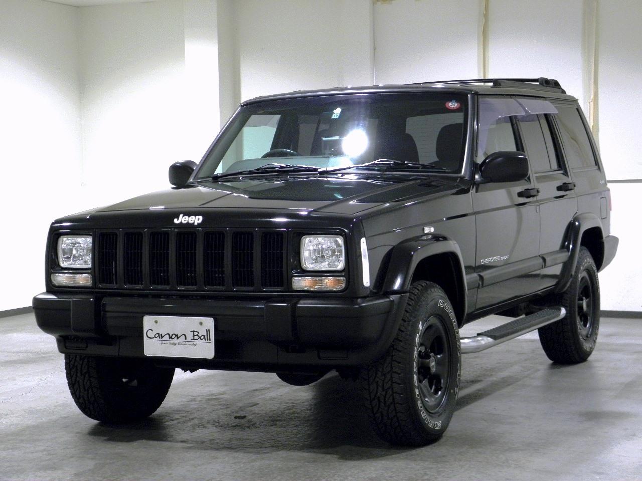 スポーツ XJ型Jeep最終モデル 社外ナビ キーレスエントリー
