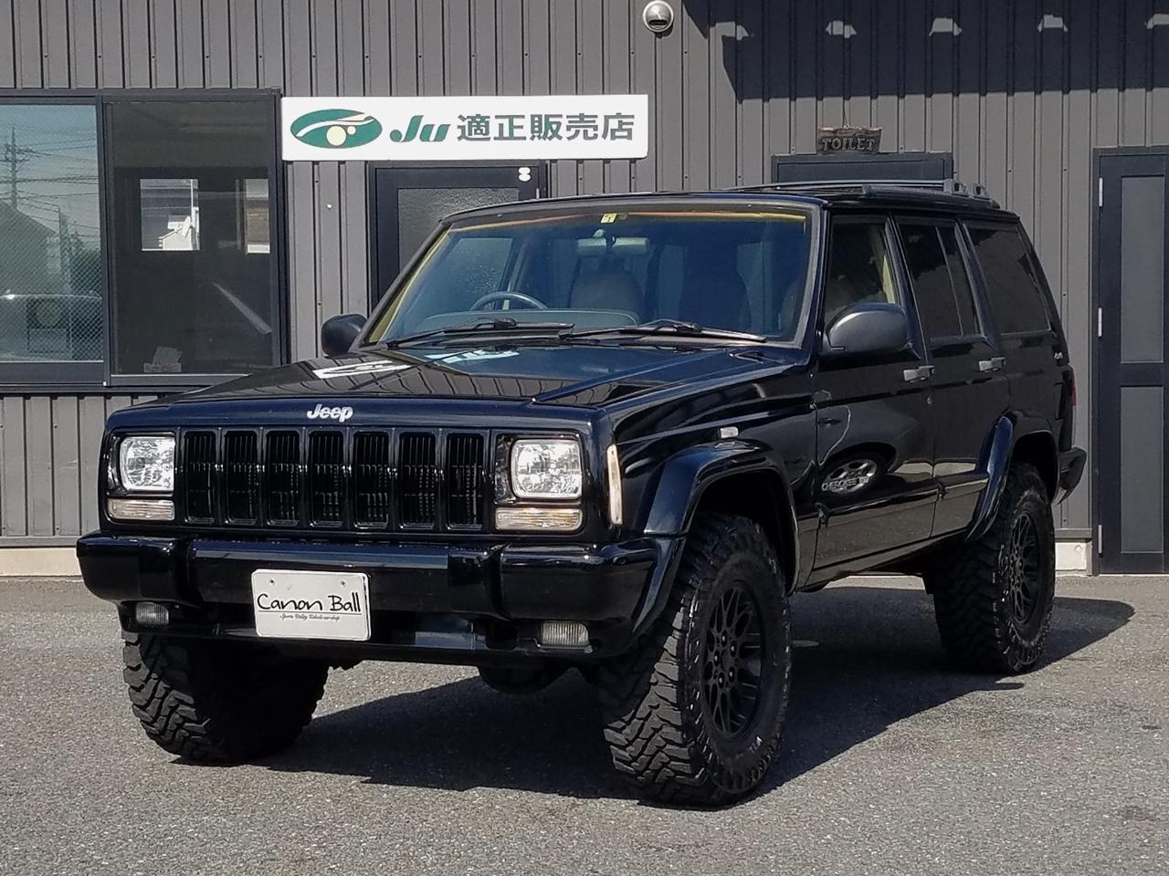 LTD ボディリフトUP&M/Tタイヤ Newブラックボディ ベージュ本革シート&ウッドインテリア 【2000年登録車】のイメージ画像です