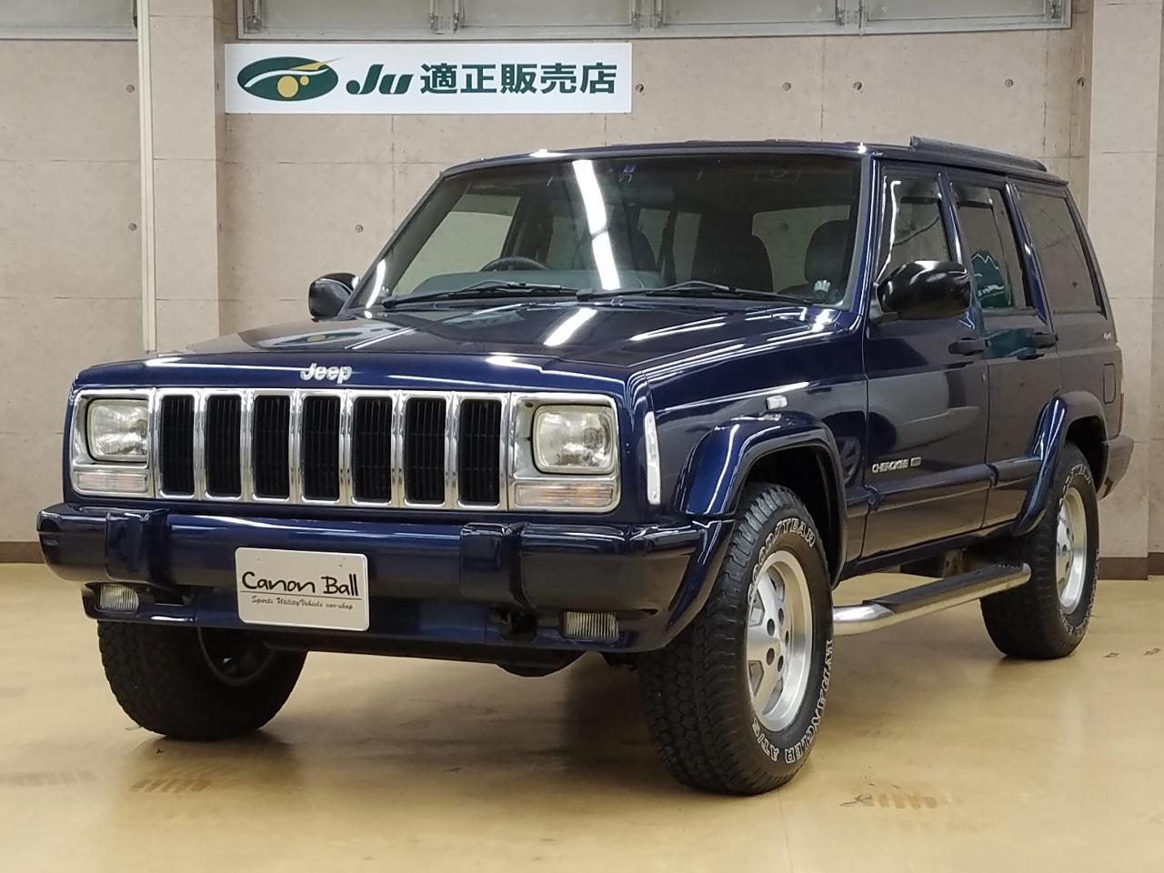 LTD 黒本革シート&ウッドインテリア ビルトイン式SDナビ&地デジフルセグTV&Bluetooth一体機 XJ型Jeep最終モデル のイメージ画像です