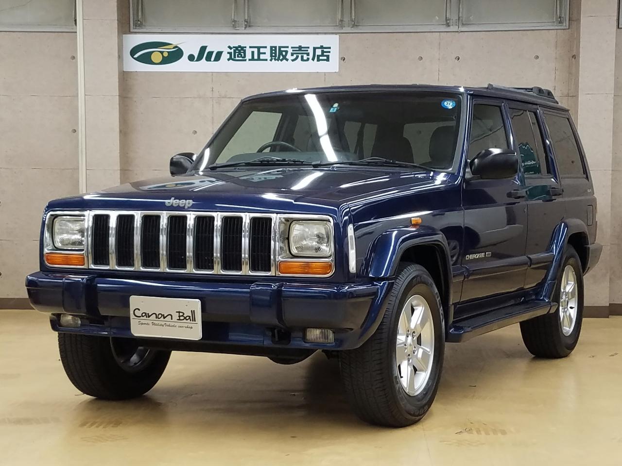 LTD 黒本革シート&ウッドインテリア XJ型Jeep最終モデル のイメージ画像です